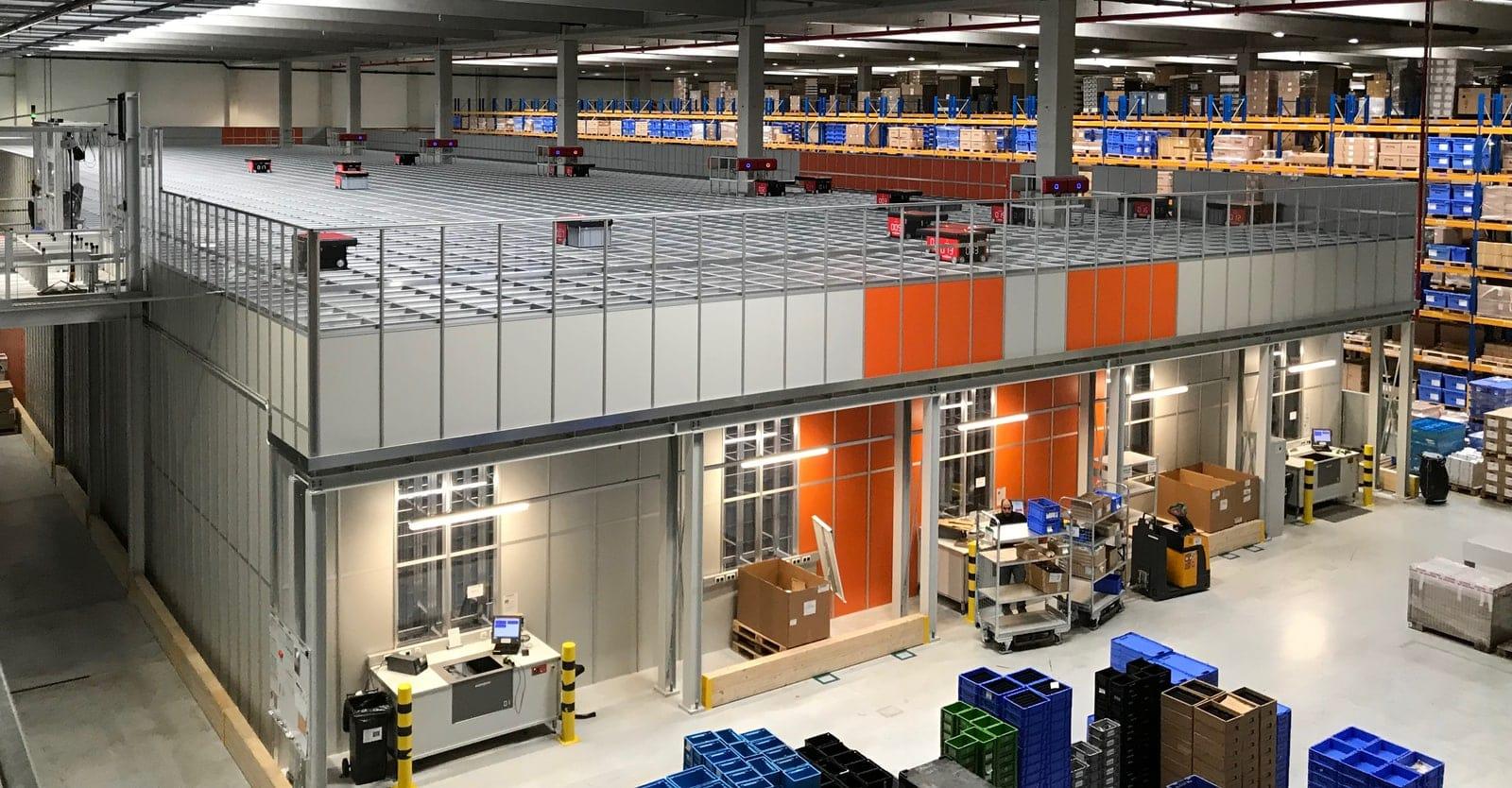 Viking´s AutoStore in Austria