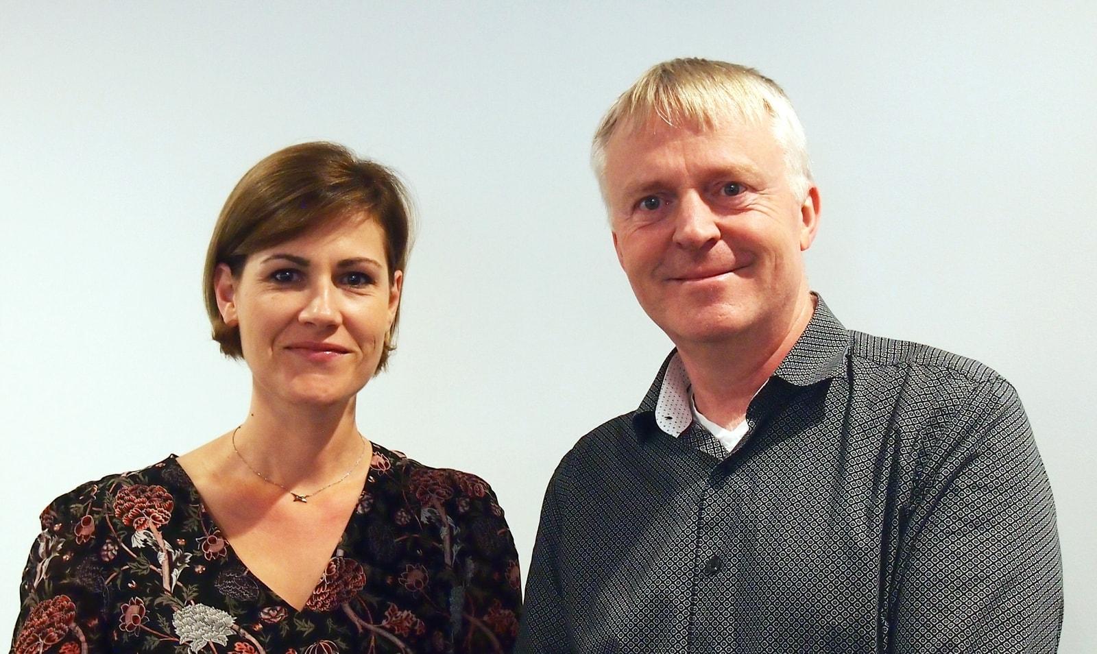 Isabelle Dubois Bion and Dag-Adler Blakseth
